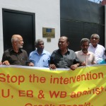 PROTEST AGAINST EU WAS HELD IN COLOMBO- SRI LANKA 3RD JULY